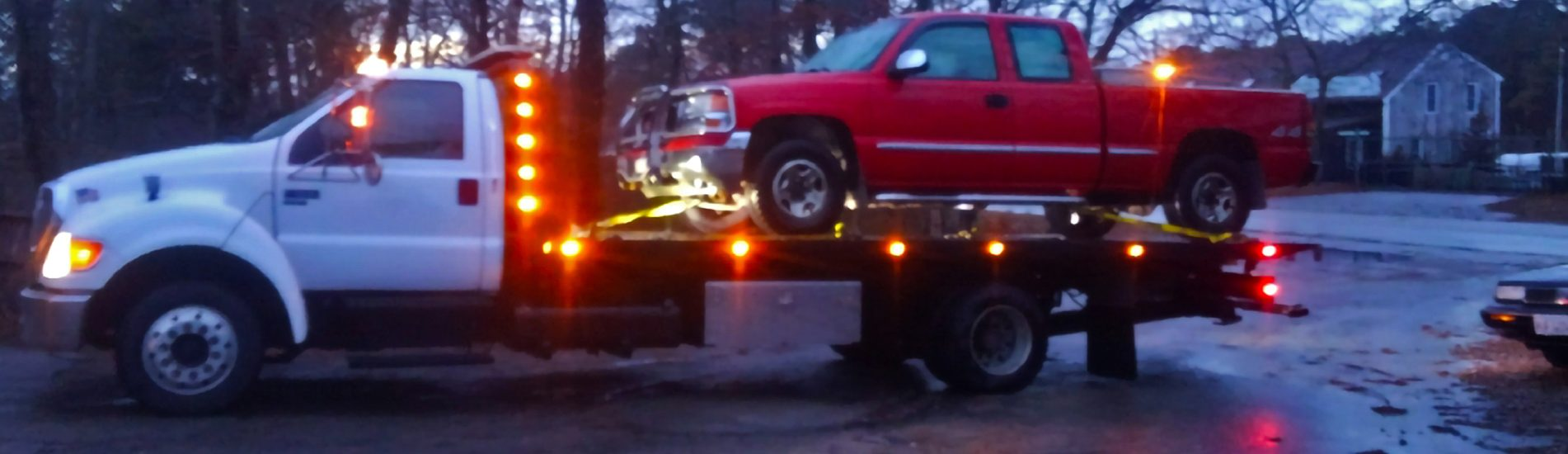 All Cape Truck Service in Harwich, MA provides towing services on Cape Cod